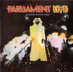 Parliament: P. Funk Earth Tour - Cover