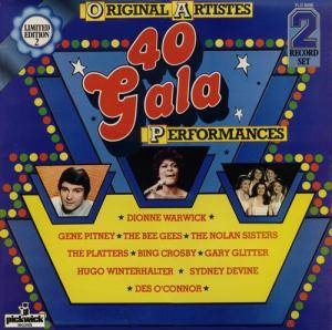 Cover - Des O'Connor: 40 Gala Performances