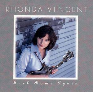 Cover - Rhonda Vincent: Back Home Again