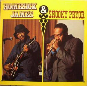 Cover - Homesick James: Homesick James & Snooky Pryor