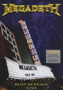 Megadeth: Rust In Peace Live - Cover