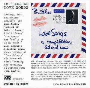 Phil Collins: Love Songs (2-CD) - Bild 4