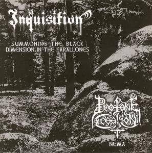 Cover - Inquisition: Summoning The Black Dimension In The Farallones / Nema