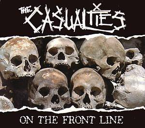 Cover - Casualties, The: On The Front Line