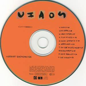 Herbert Grönemeyer: Chaos (CD) - Bild 3