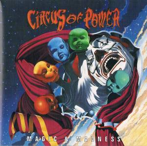 Cover - Circus Of Power: Magic & Madness