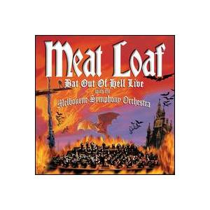 Meat Loaf: Bat Out Of Hell Live With The Melbourne Symphony Orchestra - Cover