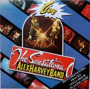 The Sensational Alex Harvey Band: Live - Cover