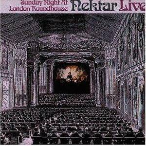 Nektar: Sunday Night At London Roundhouse - Cover