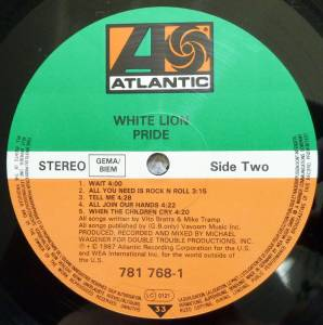 White Lion: Pride (LP) - Bild 6