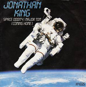 Jonathan King: Space Oddity / Major Tom (Coming Home) - Cover