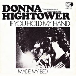 Cover - Donna Hightower: If You Hold My Hand