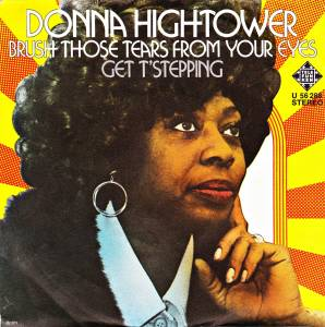 Cover - Donna Hightower: Brush Those Tears From Your Eyes