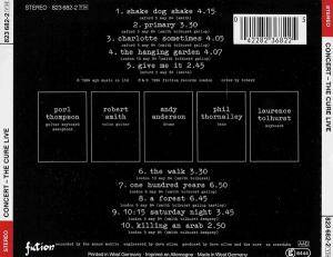 The Cure: Concert - The Cure Live (CD) - Bild 2