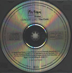 The Cure: Concert - The Cure Live (CD) - Bild 3