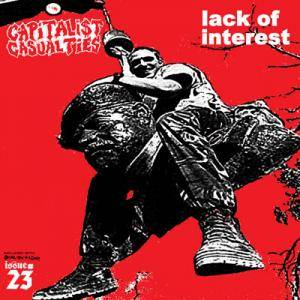 Cover - Lack Of Interest: Capitalist Casualties/Lack Of Interest - Split EP