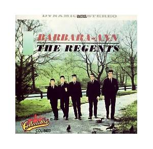 Cover - Regents, The: Barbara-Ann