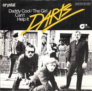 Cover - Darts: Daddy Cool / The Girl Can't Help It