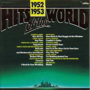 Hits Of The World 1952/1953 - Cover