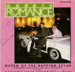Cover - Modern Romance: Queen Of The Rapping Scene