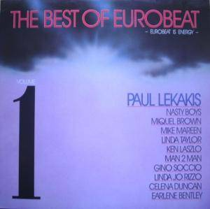 Cover - Paul Lekakis: Best Of Eurobeat - Eurobeat Is Energy -, The