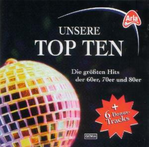 Cover - Various Artists/Sampler: Unsere Top Ten