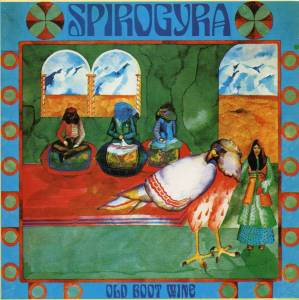 Spirogyra: Old Boot Wine - Cover