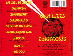 Thin Lizzy: Chinatown (CD) - Bild 3