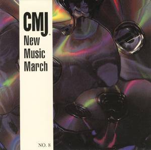 Cover - LiLiPUT: CMJ - New Music Volume 008