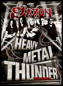 Saxon: Heavy Metal Thunder - The Movie - Cover