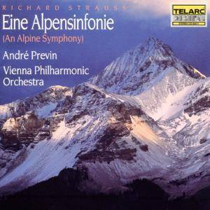 Richard Strauss: Eine Alpensinfonie Op. 64 - Cover