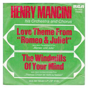 "Cover - Henry Mancini & His Orchestra & Chorus: Love Theme From ""Romeo & Juliet"""