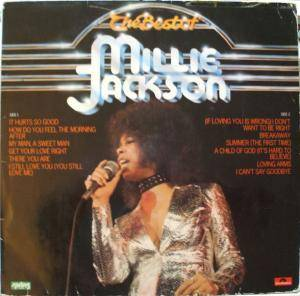 Millie Jackson: Best Of Millie Jackson, The - Cover