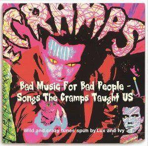 Cover - Hayden Thompson: Bad Music For Bad People - Songs The Cramps Taught Us