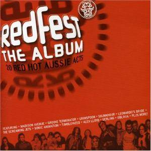 Cover - Skunkhour: Coca-Cola Redfest The Album: 20 Red Hot Aussie Acts