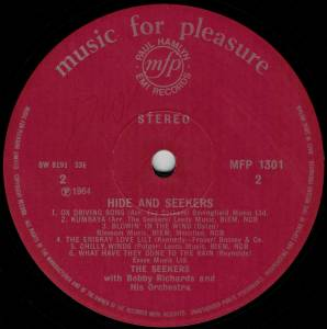 The Seekers: Hide And Seekers (LP) - Bild 4