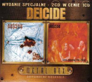 Deicide: Once Upon The Cross / Amon: Feasting The Beast - Cover