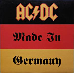 AC/DC: Made In Germany - Cover