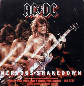 AC/DC: Nervous Shakedown - Cover