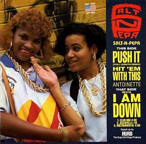 Salt'N'Pepa: Push It - Cover
