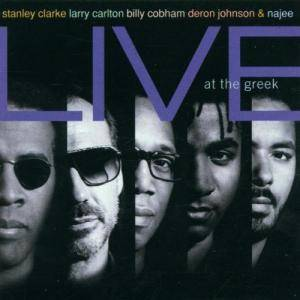 Stanley Clarke: Live At The Greek - Cover