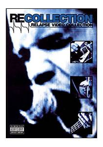 Recollection - Relapse Video Collection - Cover