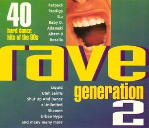 Rave Generation 2 - Cover