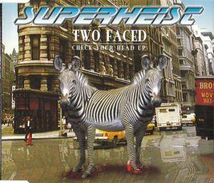 Cover - Superheist: Two Faced (Check Your Head Up)