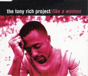Cover - Tony Rich Project: Like A Woman
