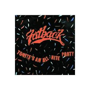 Cover - Fatback: Tonite's An All-Nite Party