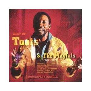 Cover - Toots & The Maytals: Best Of Toots & The Maytals - Broadway Jungle