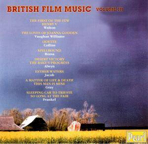 Cover - Mischa Spoliansky: British Film Music - Volume III