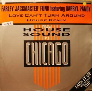 "Cover - Farley ""Jackmaster"" Funk Feat. Darryl Pandy: Love Can't Turn Around"