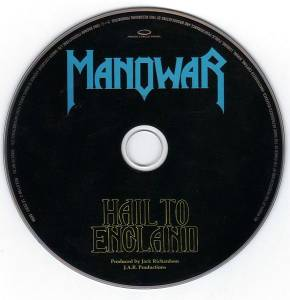 Manowar: Hail To England (CD) - Bild 4